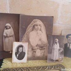 Antigüedades: LOTE FOTOS ANTIGUAS. Lote 154362016