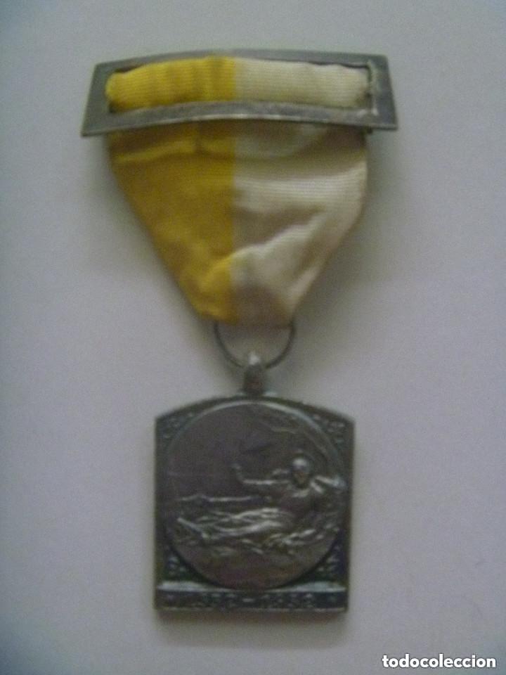 MEDALLA DEL CENTENARIO SAN FRANCISCO JAVIER . CASTILLO DE JAVIER . 1552 - 1952 .. ¿ PLATA ? (Antigüedades - Religiosas - Medallas Antiguas)