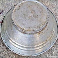 Antigüedades: CUENCA EN ZINC. Lote 154401958