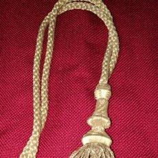 Antigüedades: ANTIGUO CORDON DE HILO DE ORO. Lote 154451753