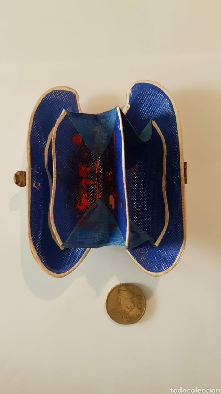 Antigüedades: Estuche monedero pintalabios concha nácar - Foto 2 - 154468477