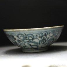 Antigüedades: CHINA , ANTIGUO CUENCO DE CERAMICA , PORCELANA , DINASTIA QING, SIGLO 19, 1800. Lote 154473638