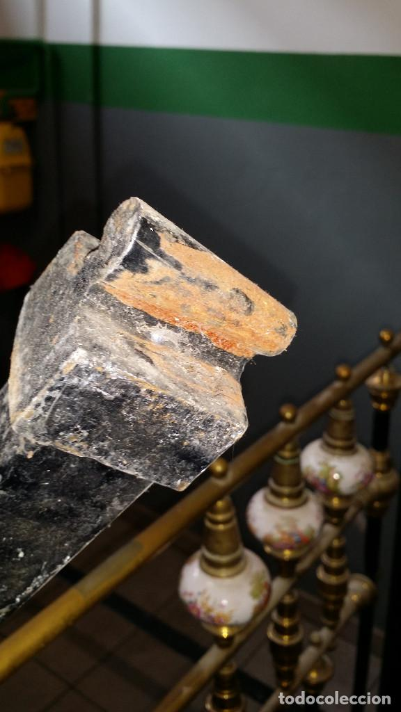 Antigüedades: CAMA ANTIGUA DE HIERRO - Foto 7 - 154480074