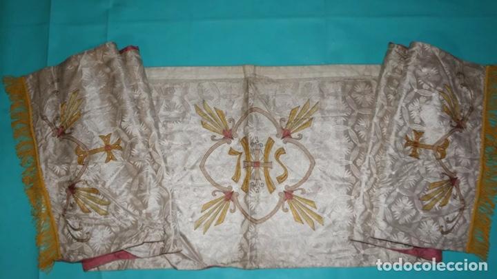 HUMERAL (Antigüedades - Religiosas - Ornamentos Antiguos)