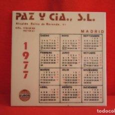 Antigüedades: AZULEJO CALENDARIO / PAZ Y CIA., S.L. / EUROS CERÁMICA / 1977. Lote 154490634