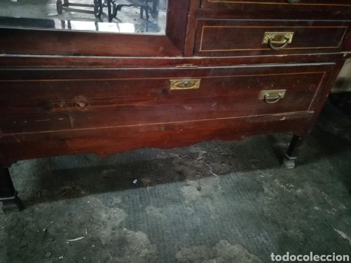 Antigüedades: Antiguo armario modernista - Foto 4 - 154496442