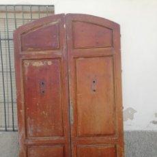 Antigüedades: ANTIGUA PUERTA DE CALLE DEL SIGLO XIX. Lote 154500964