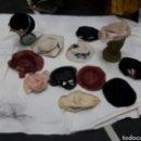 Antigüedades: LOTE DE 12 TOCADOS - SOMBREROS AÑOS 30'S. Lote 154502533