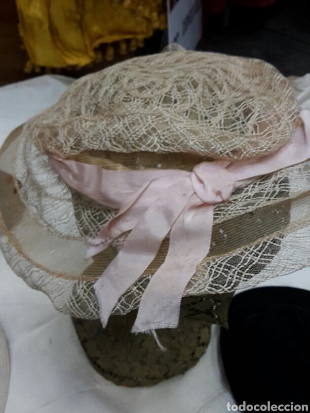 Antigüedades: Lote de 12 tocados - sombreros años 30's - Foto 3 - 154502533