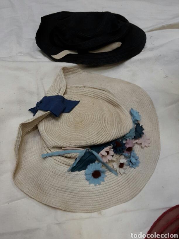 Antigüedades: Lote de 12 tocados - sombreros años 30's - Foto 4 - 154502533