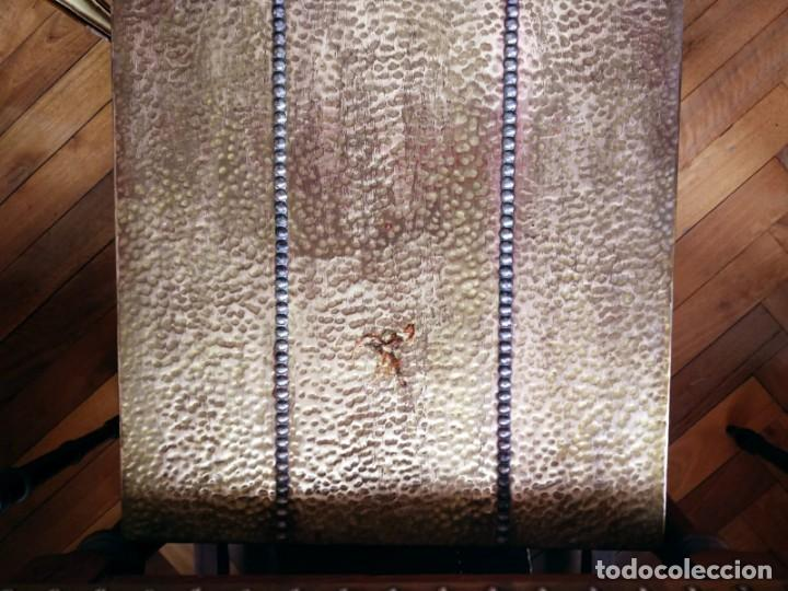 Antigüedades: Mesas nido estilo castellano cobre amartillado - Foto 5 - 154504102