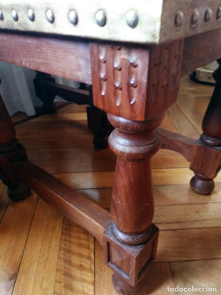 Antigüedades: Mesas nido estilo castellano cobre amartillado - Foto 6 - 154504102
