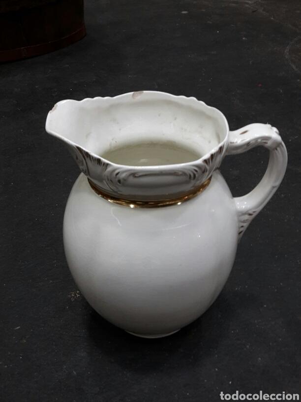 Antigüedades: Antiguas palangana y jarra de porcelana - Foto 2 - 154504277