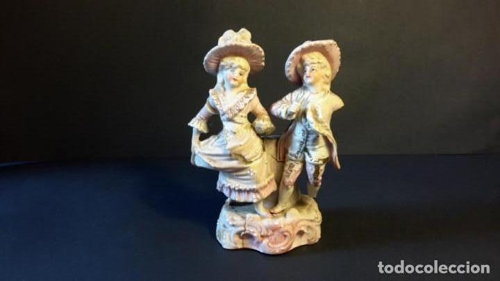FIGURITA PORCELANA ANTIGUA (Antigüedades - Porcelanas y Cerámicas - Otras)