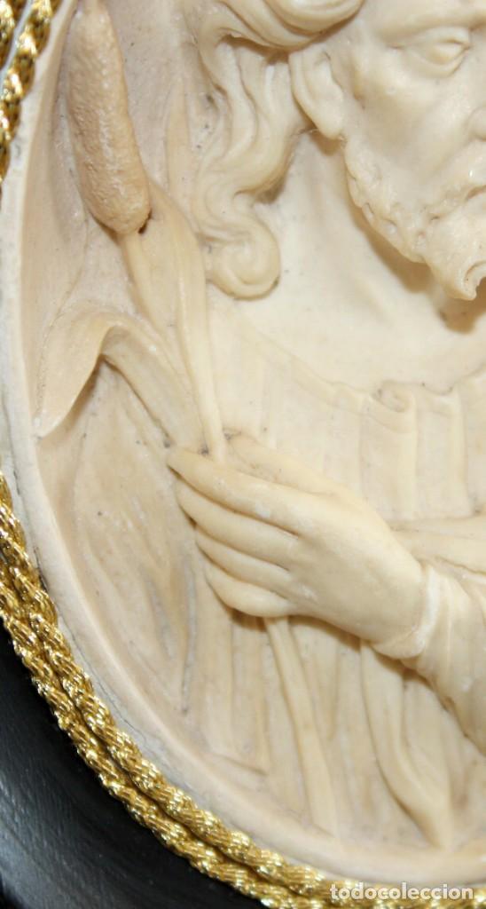Antigüedades: BENDITERA DE ESPUMA DE MAR-JESUCRISTO-SG XIX. - Foto 8 - 154564574