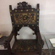 Antigüedades: SILLONES ESTILO CASTELLANO. Lote 154595902