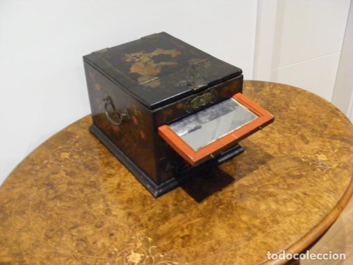 Antigüedades: CAJA TOCADOR CHINA - Foto 10 - 154617114