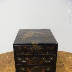 Antigüedades: CAJA TOCADOR CHINA. Lote 154617114