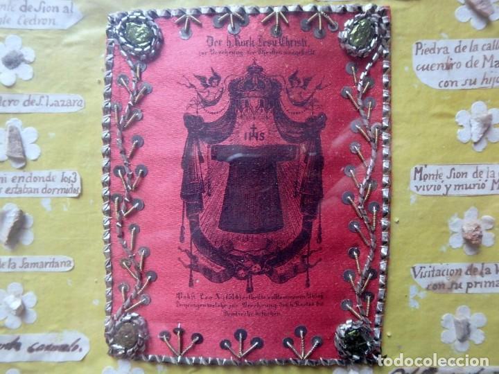 Antigüedades: (JX-190322) GRAN RELICARIO - 41 RELIQUIAS - MIRAR FOTOS - Foto 3 - 154625506