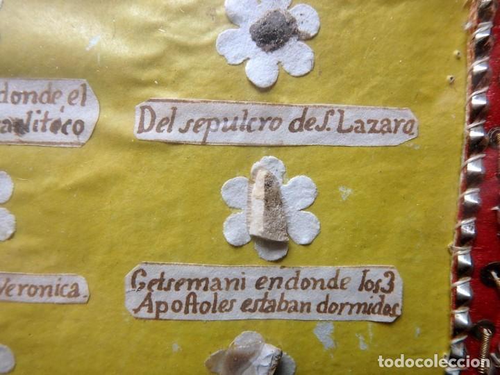 Antigüedades: (JX-190322) GRAN RELICARIO - 41 RELIQUIAS - MIRAR FOTOS - Foto 12 - 154625506