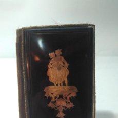 Antigüedades: CARNET DE BAILE. PAREJA. ORO DE 14K. S.XIX. 10X6CM. Lote 154625686