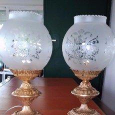 Antigüedades: LAMPARAS DE BRONCE. Lote 154627118