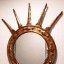 Antigüedades: ESPEJO ITALIANO SIGLO XIX. TALLADO Y DORADO. Lote 154629118