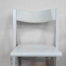 Antigüedades - 2 sillas blancas plegables - 154672962