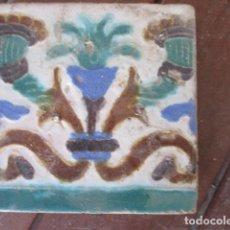 Antigüedades: AZULEJO SIGLO XIX. Lote 154718846