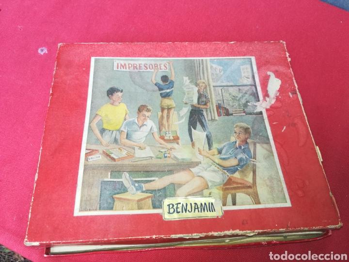 Antigüedades: Antiguo cuño universal BENJAMÍN - Foto 5 - 154720601