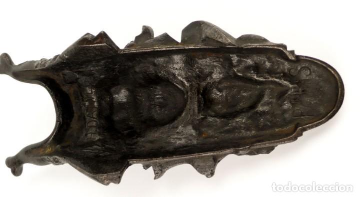 Antigüedades: Daniel,París Breveté S.G.D.G.firmado- Descalzadora Art Nouveau en hierro fundido- Ca.1900 - Foto 8 - 154730966