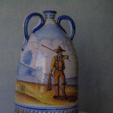 Antigüedades: PRECIOSA CERAMICA TRIANA SEVILLA FIRMADO A VALVERDE TRIANA. Lote 154738766