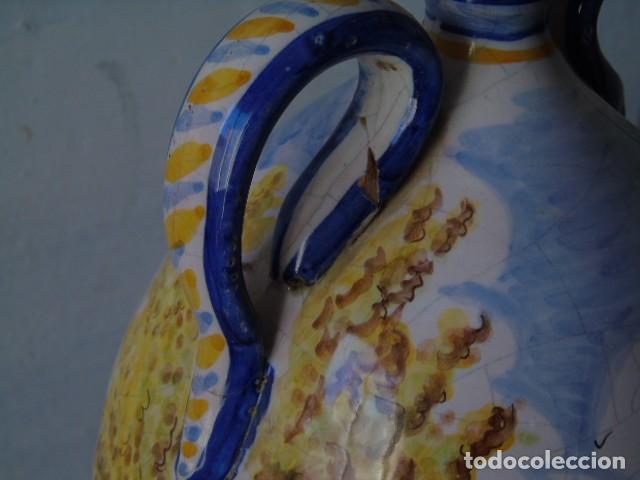 Antigüedades: preciosa ceramica triana sevilla firmado a valverde triana - Foto 4 - 154738766
