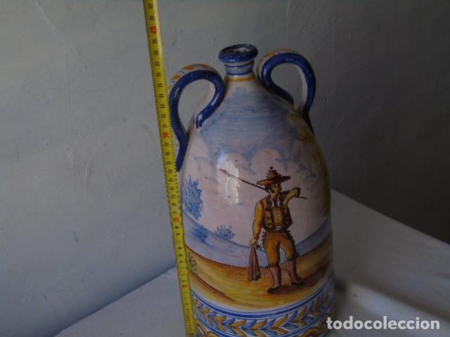 Antigüedades: preciosa ceramica triana sevilla firmado a valverde triana - Foto 9 - 154738766