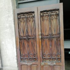 Antigüedades: ANTIGUA PUERTA. Lote 154786661
