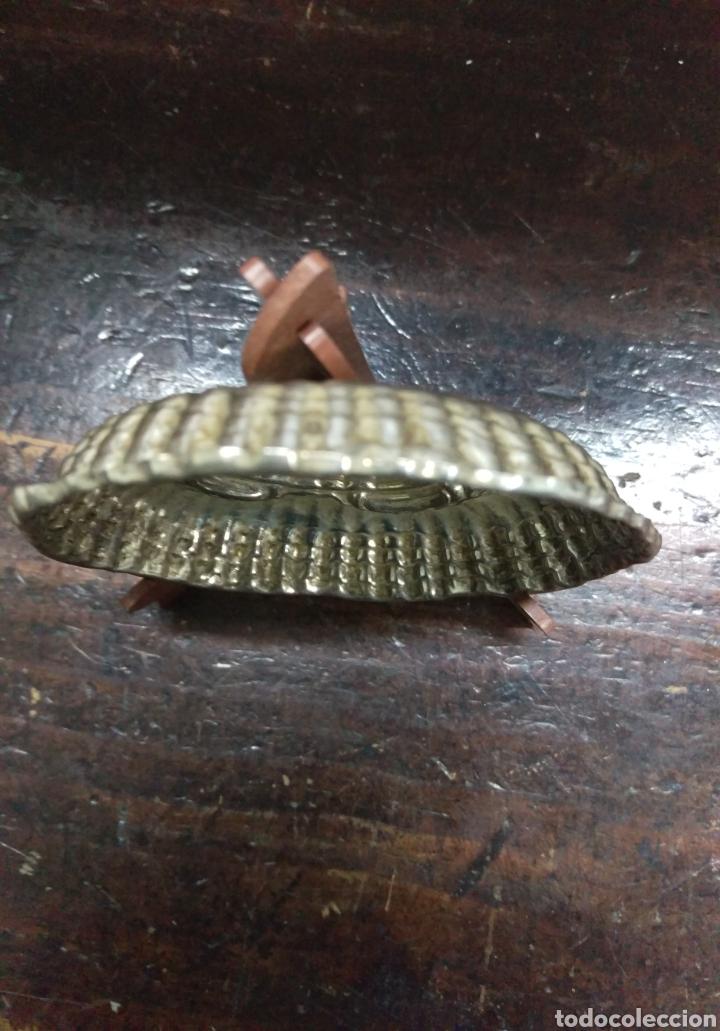 Antigüedades: Plato Bandeja plata de ley punzon estrella y otro - Foto 2 - 171096908