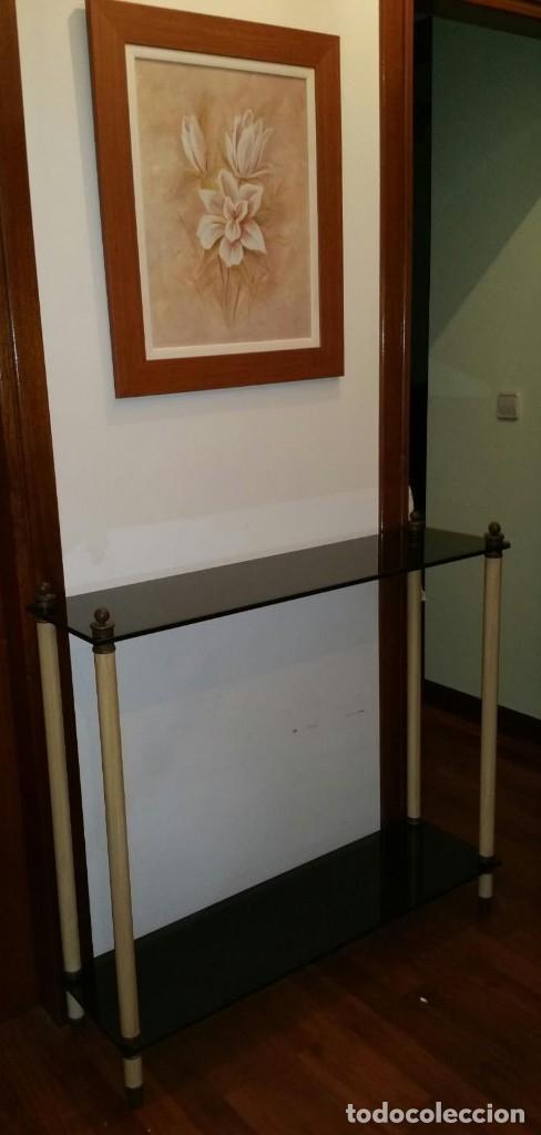 MUEBLE RECIBIDOR VINTAGE (Antigüedades - Muebles Antiguos - Auxiliares Antiguos)