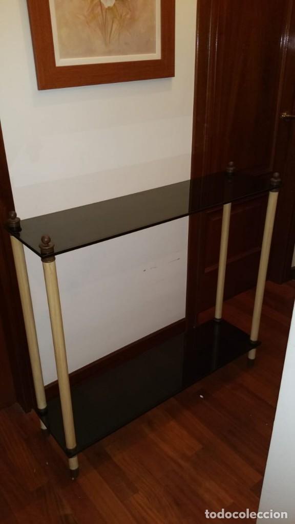 Antigüedades: Mueble recibidor Vintage - Foto 2 - 154851562