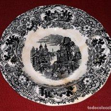 Antigüedades: PLATO HONDO CARTUJA DE SEVILLA PICKMAN. Lote 154929942
