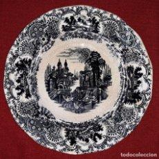 Antigüedades: PLATO HONDO CARTUJA DE SEVILLA PICKMAN. Lote 154930614