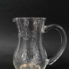 Antiquitäten - Jarrita de cristal tallado base dorada - 154931798
