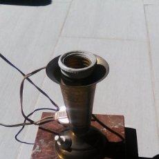 Antigüedades: LAMPARA DE MESA. Lote 154936682