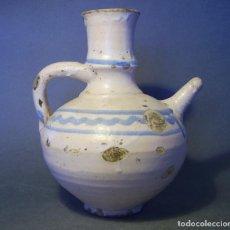 Antigüedades: GRAN Y SOBERBIA VINAGRERA ARAGONESA DE TERUEL XVIII. Lote 154952442