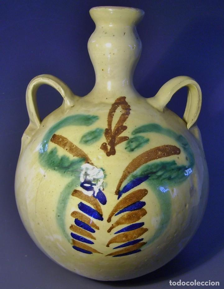 GRAN CANTIMPLORA CERÁMICA DE LUCENA XX (Antigüedades - Porcelanas y Cerámicas - Lucena)