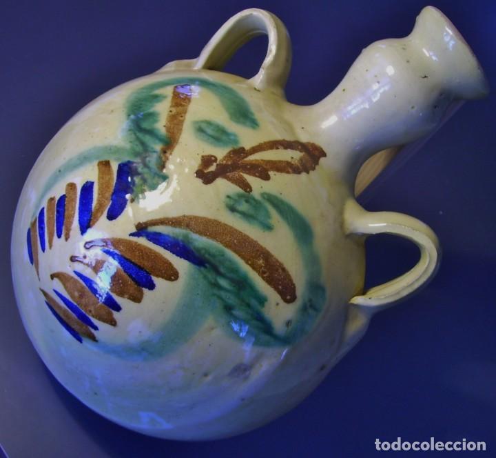 Antigüedades: GRAN CANTIMPLORA CERÁMICA DE LUCENA XX - Foto 3 - 154953390