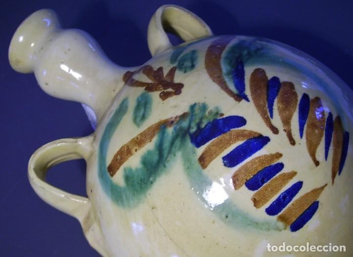Antigüedades: GRAN CANTIMPLORA CERÁMICA DE LUCENA XX - Foto 14 - 154953390