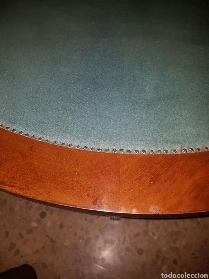 Antigüedades: Mesa auxiliar plegable art deco para juego de cartas o juegos de mesa - Foto 2 - 154953758