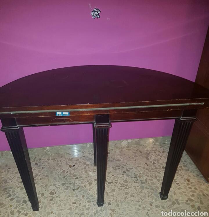 Antigüedades: Mesa auxiliar plegable art deco para juego de cartas o juegos de mesa - Foto 4 - 154953758