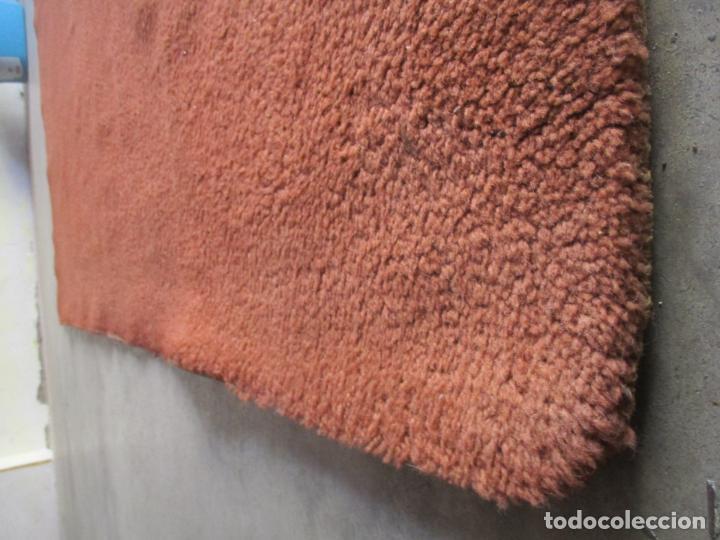 Antigüedades: Gran Alfombra Roja de Salón - en Lana - 300 cm Largo, 197 cm Ancho - Foto 2 - 154960938