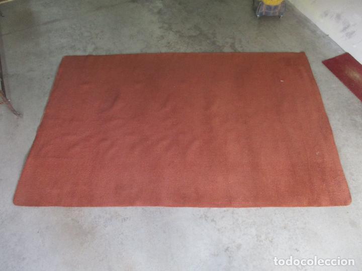 Antigüedades: Gran Alfombra Roja de Salón - en Lana - 300 cm Largo, 197 cm Ancho - Foto 3 - 154960938